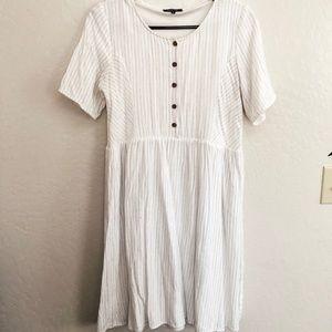 Roolee button up dress